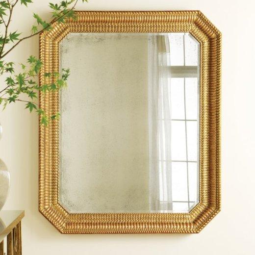 rippled mirror gold leaf premium home interior